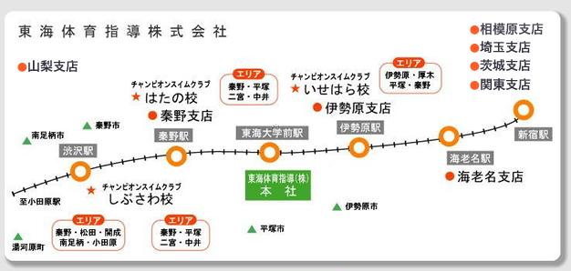 事業所アクセスマップ